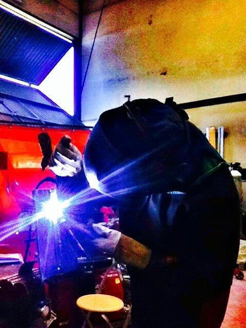 Homologación soldador TIG