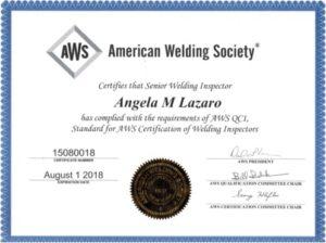 Certificado Senior CWI por AWS