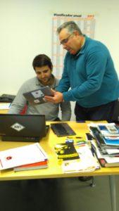 Técnico comercial certificado de soldadura