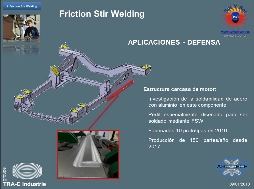 estructural FSW joining of dissimilar metals
