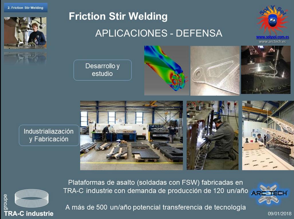 Soldadura de alta resistencia aleacion aluminio