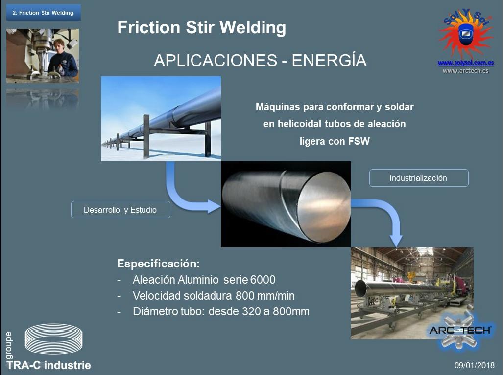 soldadura de tubo de alta presion para aplicaciones criogenicas