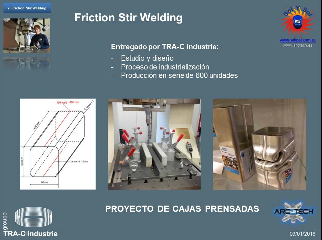 Soldadura FSW para aplicación estructural