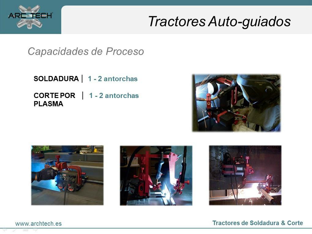 Atuomatización de soldadura con carros
