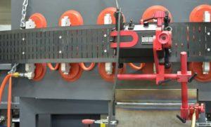 Flexible Rail automatic welding carriage