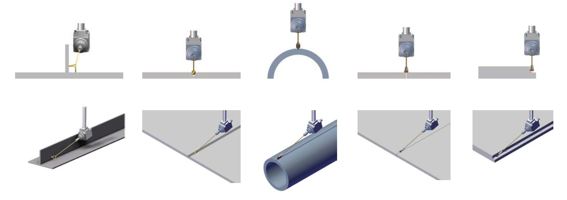 Sensores seguimiento junta RailBull
