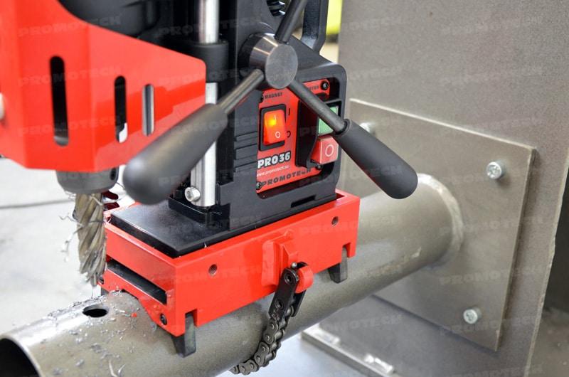 Taladradora portátil sobre tubo ArcTech