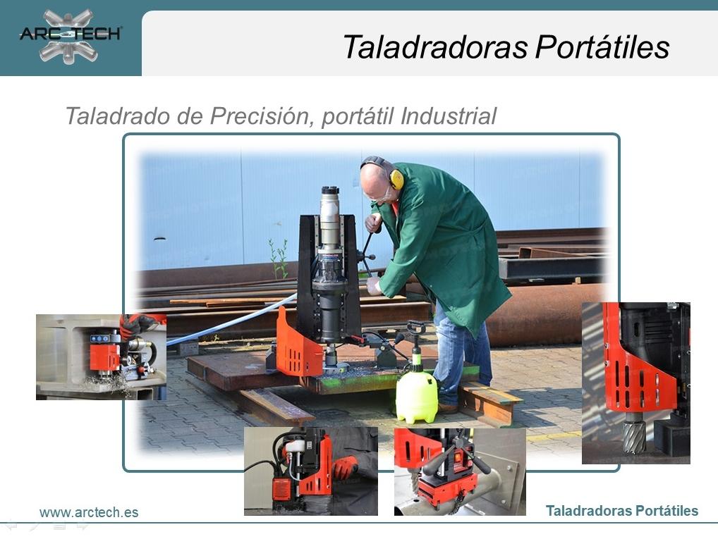 Taladradoras Portátiles-Gama Industrial