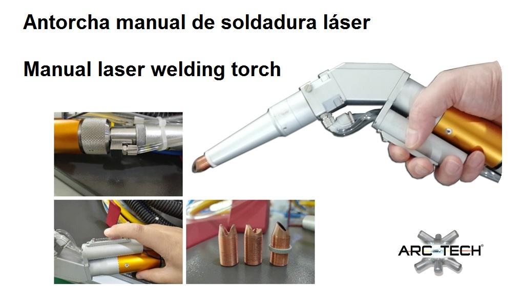 Antorcha soldadura láser manual