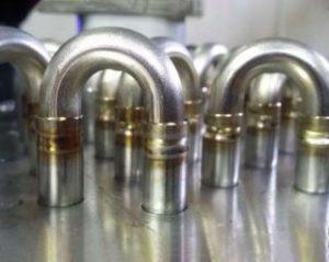 Elbow orbital welding