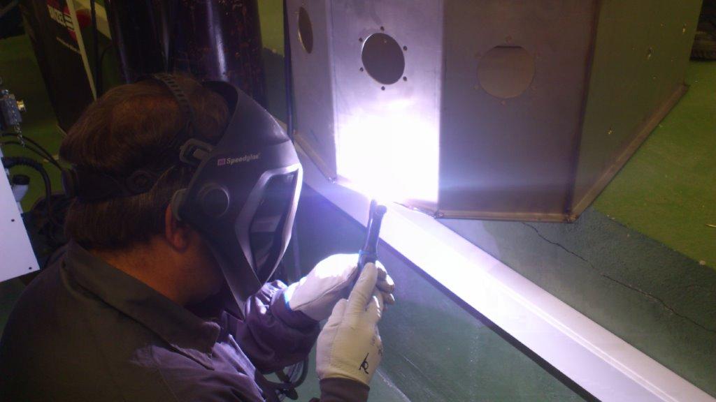 Soldador manual de plasma