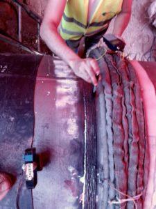 buttering welding