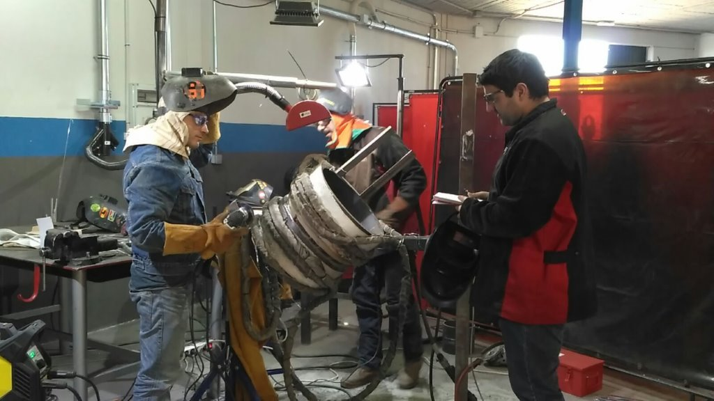 Weld and welders inspection