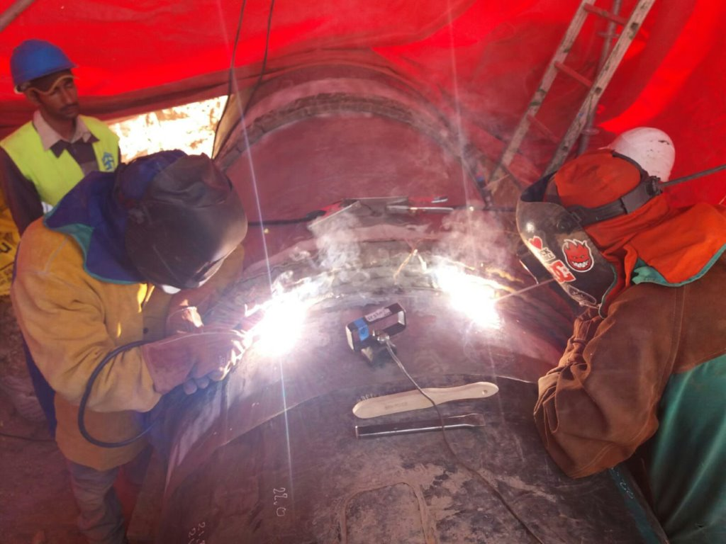 Welders qualified by Solysol