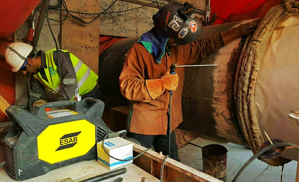 Solysol pipeline high responsibility welding