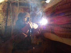 High responsibility weld repair