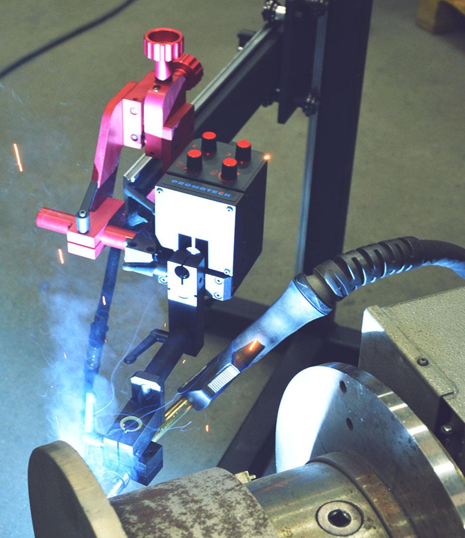 Soldadura oscilante carro automatico