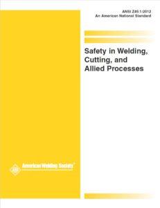 Normativa completa seguridad en soldadura y corte